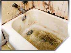 Bathtub inserts allow you to restore your tub without replacing it.