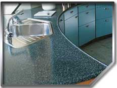 Countertop resurfacing restores the original lustre to your counter.