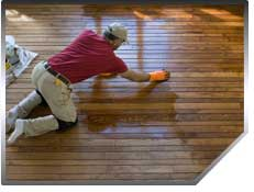 A hardwood floor installation adds beauty and value to your home.