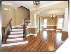 Don't despair! We do hardwood floor repair!