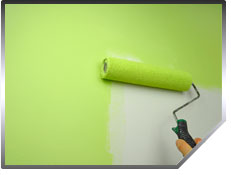 Careful application for a consistently smooth finish is the hallmark of a good interior house painting job